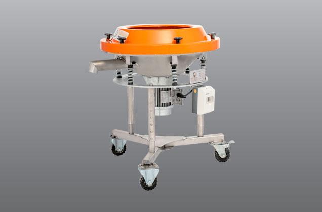 الک ویبره چرخدار جهت لعاب و مایعات قطر600