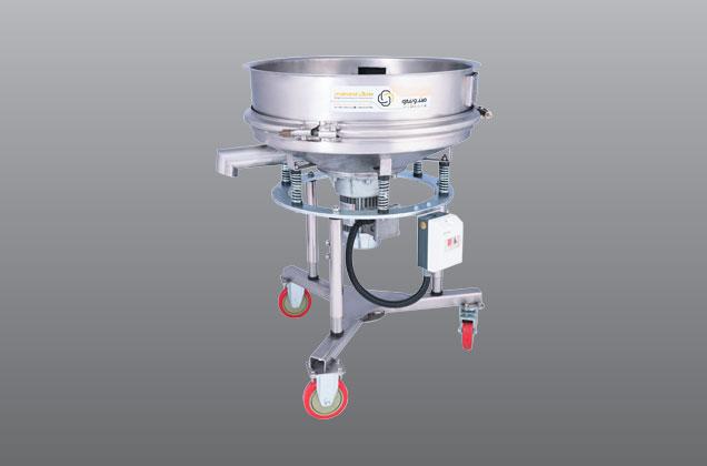 الک ویبره چرخدار جهت لعاب و مایعات قطر800